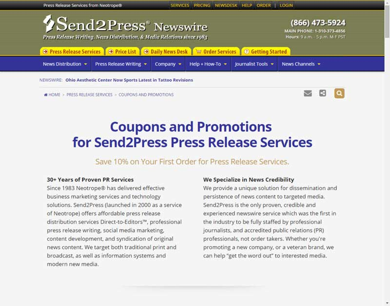 press release writing service Pressgo - use our press release writing service for commercial businesses to market their products or services to journalists, directly, online and in a well targeted and search-engine friendly way.