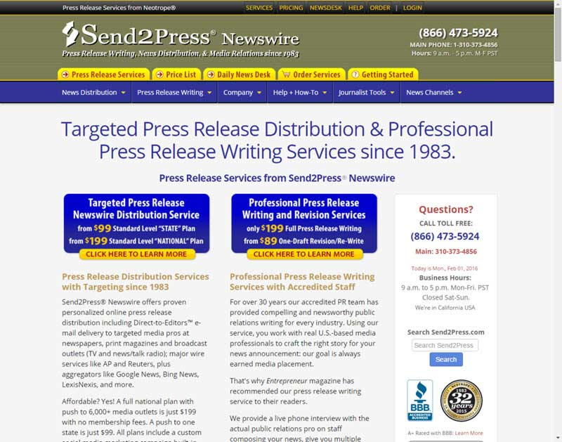Press Release Wire | Targeted Press Release Distribution And Professional Press Release