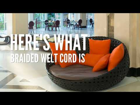 Use Braided Welt Cord To Beautify Cushions And Pillows