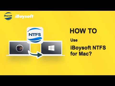 How to Use iBoysoft NTFS for Mac: Mount NTFS Drives on Mac in Read-write Mode?