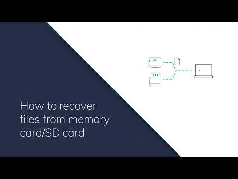 How To Recover Files From Memory Card Or SD Card?