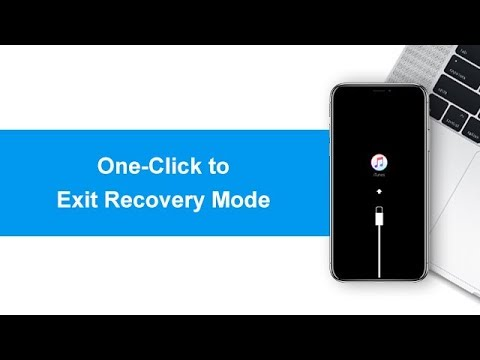 iOS 12 Update/Downgrade Stuck in Recovery Mode? 1-Click Free Solution Here