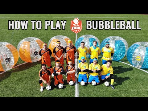 BBA Bubbleball Game Rules: Official Debut Video