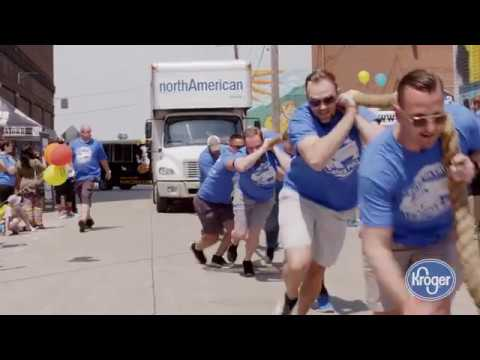 First Annual Detroit Truck Pull, presented by Kroger