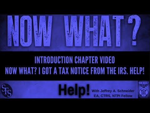 Introduction to the IRS Tax Notice book from Jeffrey Schneider