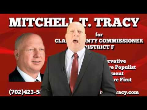 Mitchell T Tracy Candiate for Clark Commissioner Dist F