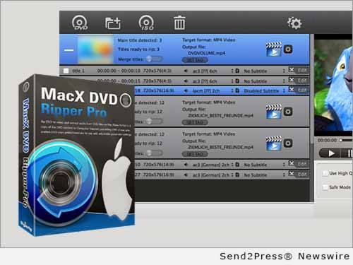 MacX DVD Software Inc.