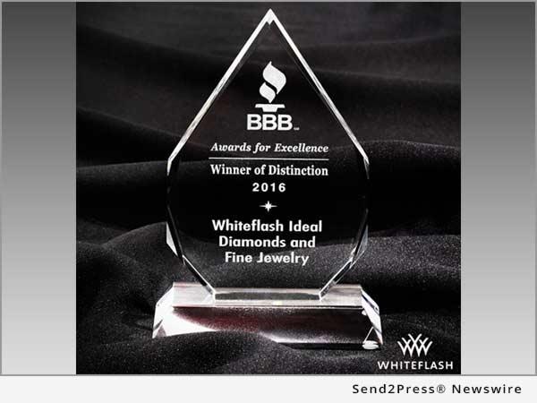 Whiteflash BBB award 2016