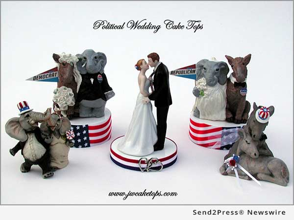 Political Wedding Cake Tops