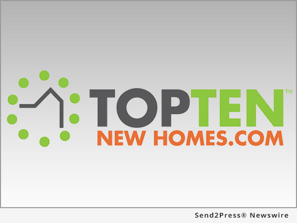 Top Ten New Homes