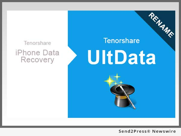 Tenorshare Renames iPhone Data Recovery to UltData – Ultimate iOS 10 Data Recovery Software
