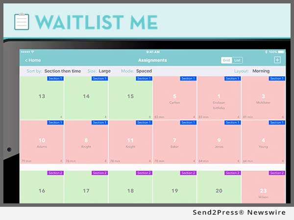 WaitList Me App