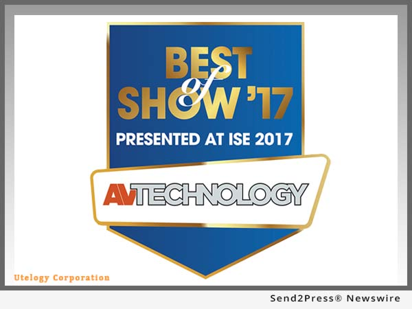 Utelogy AVTech Best of Show