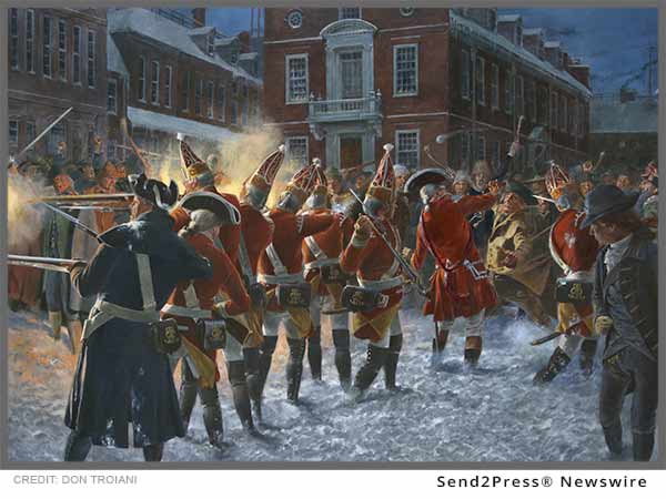 Don Troiani - Boston Massacre Art