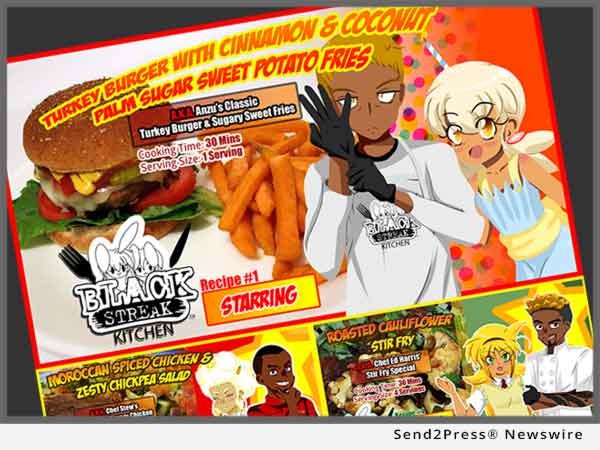 New Cooking App Teaches Kids, Parents and Families Recipes, Nutrition, Health, Wellness through Comics and Animation