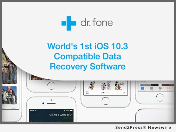 dr.fone Announces Day Zero Compatibility Support for iOS 10.3