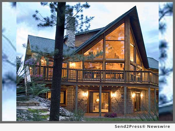 Log Homes - outside