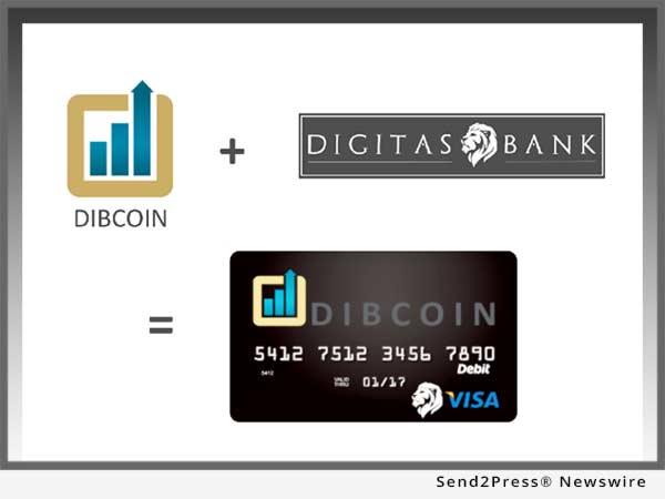 Dibcoin and Digitas Bank