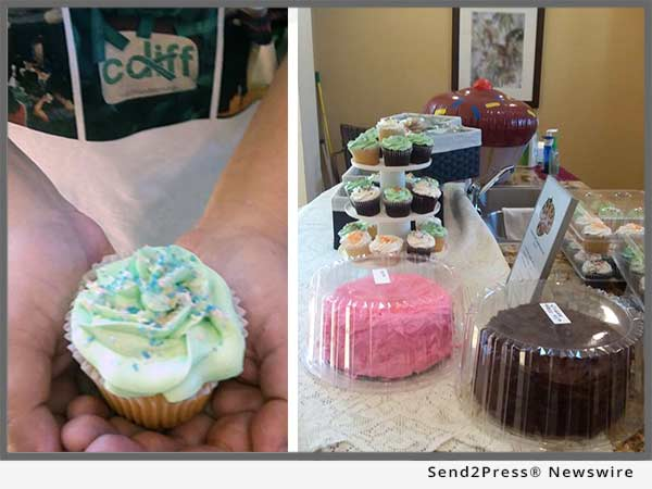 C DIFF awareness bake sale