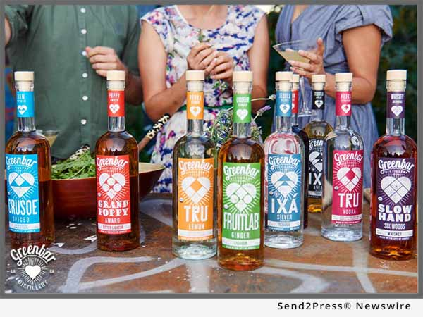 Greenbar Distillery brands