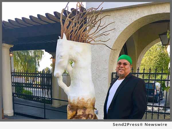 Bernard Hoyes with PEGASUS