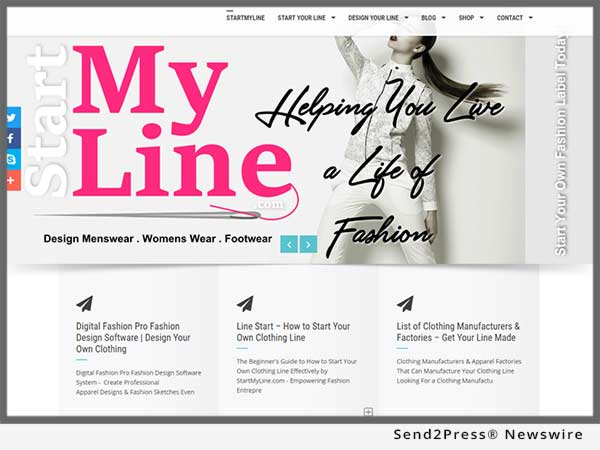 Announcing Startmyline Com Total Diy Business And Design Solutions For Fashion Designers Send2press Newswire