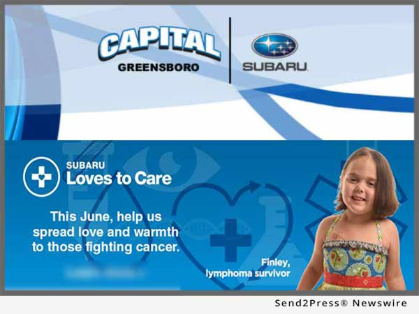 Capital Subaru Greensboro Cares