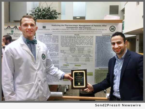 Dr. Milad Modarresi awarded first place