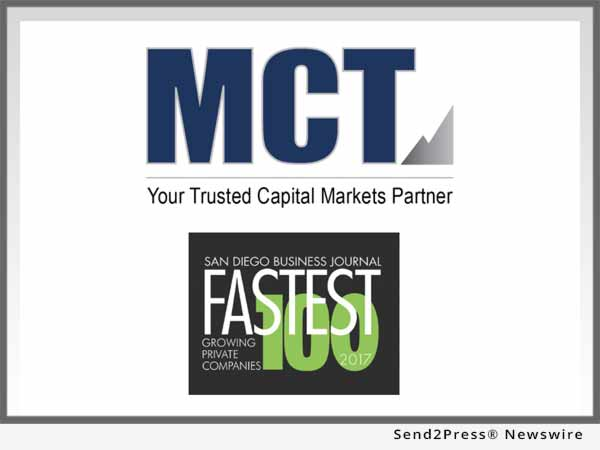 MCT Fastest Growing 100 San Diego