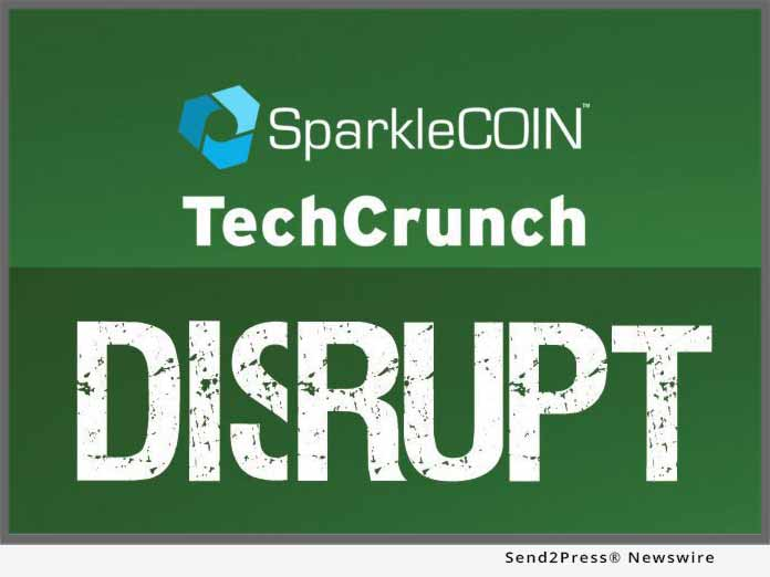 SparkleCOIN TechCrunch DISRUPT