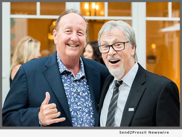 Steve Van Doren with Jonathan Burke