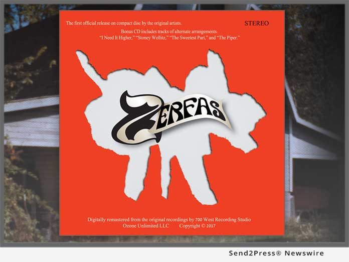 ZERFAS CD Reissue
