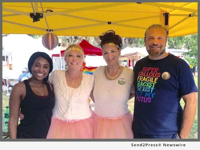 Walsh at Sarasota Pride