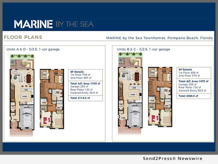 Marine by the Sea - Floorplan