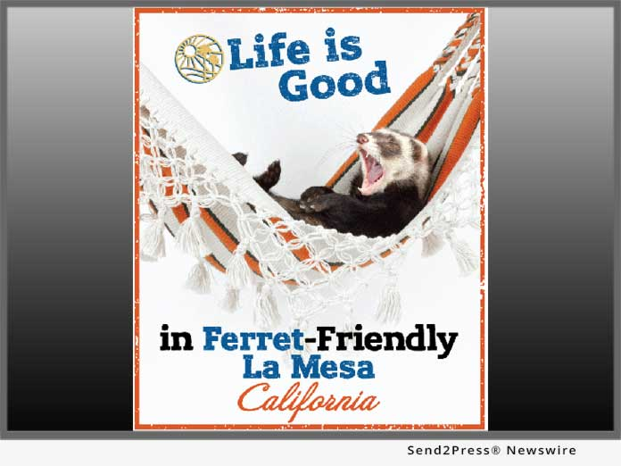 Ferret-friendly La Mesa Calif.