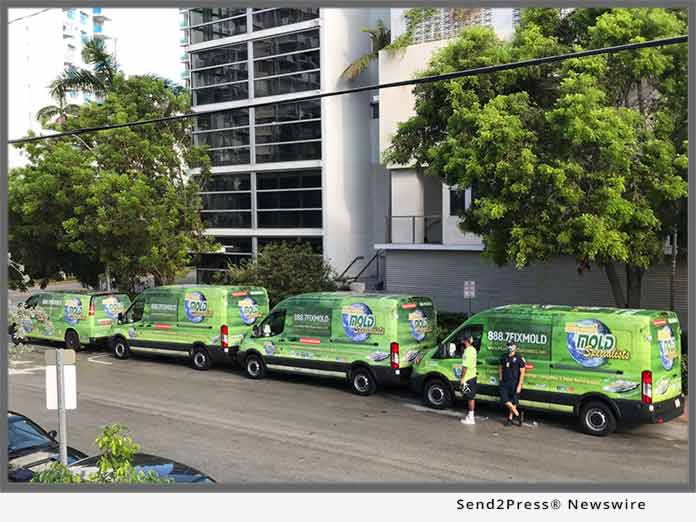 Miami Mold Specialist - trucks