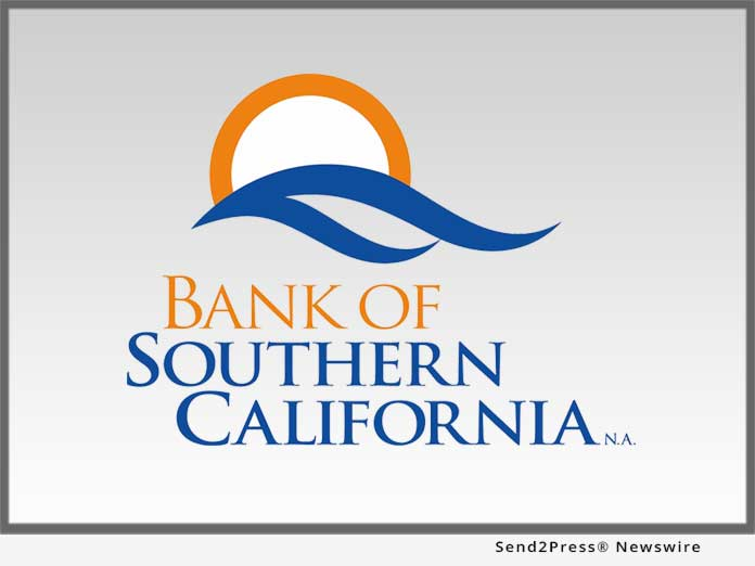 News from Bank of Southern California NA