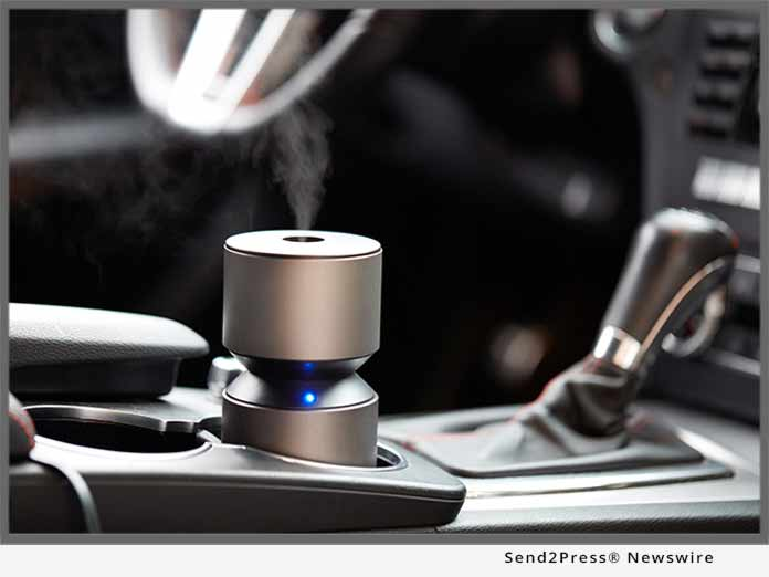 Mobile Mini Nebulizing Travel Diffuser
