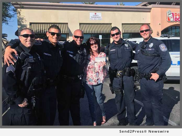 Retired Las Vegas 911 Dispatcher Turns Successful Realtor and Pays it Forward in K-9 Community