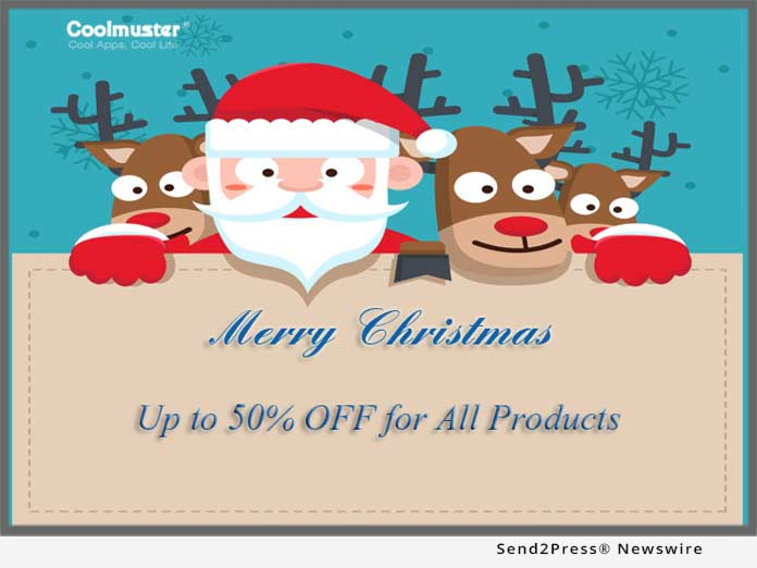 coolmuster rolls out 50 percent off christmas discounts on. Black Bedroom Furniture Sets. Home Design Ideas