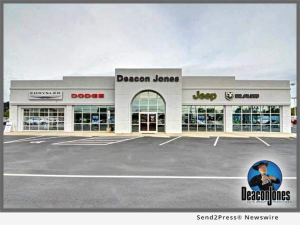 Deacon Jones Chrysler Operations Resume After Driver Crashes Into