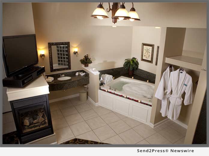 Belamere Suites Two person jacuzzi tub