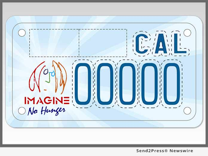 California Imagine Plate - Motorcycle