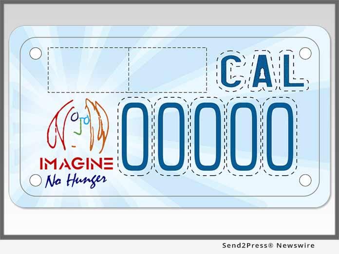 California Imagine Plate - Motorcycle