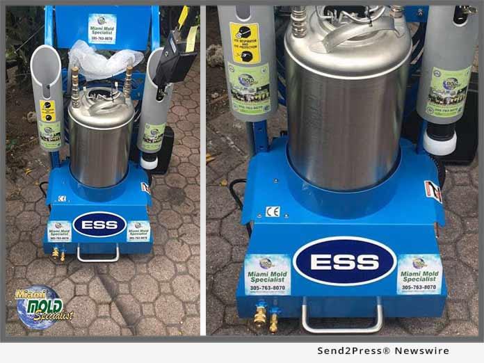 Miami Mold Specialist - Electrostatic 2