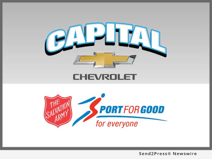 Capital Chevrolet and Salvation Army
