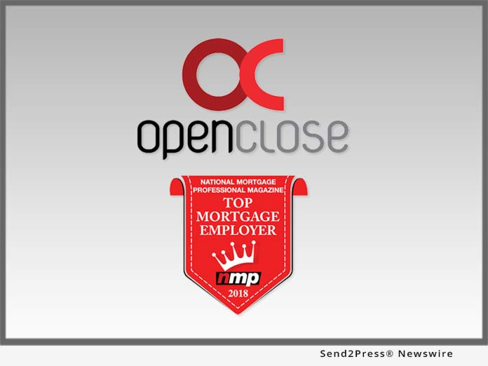 OpenClose - Top Mortgage Employer