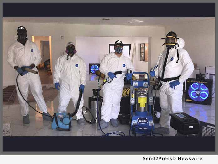 Miami Mold Specialists - suited up
