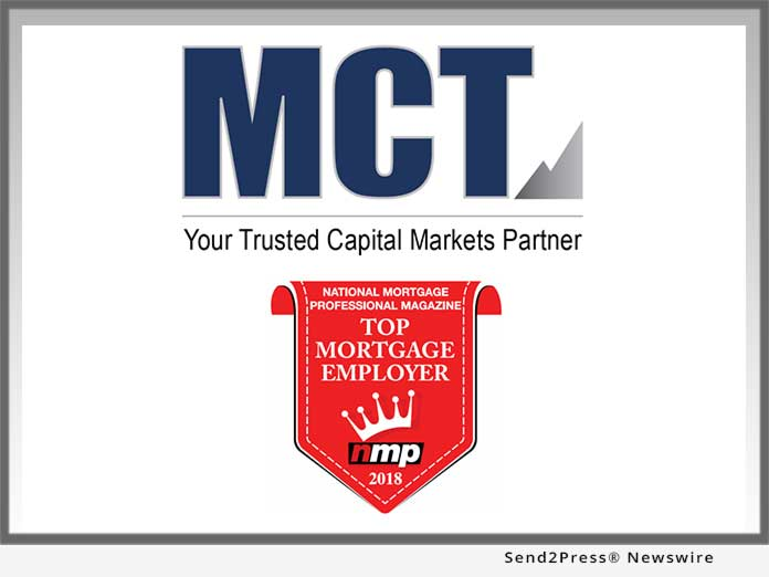 MCT - Top Mortgage Employer 2018