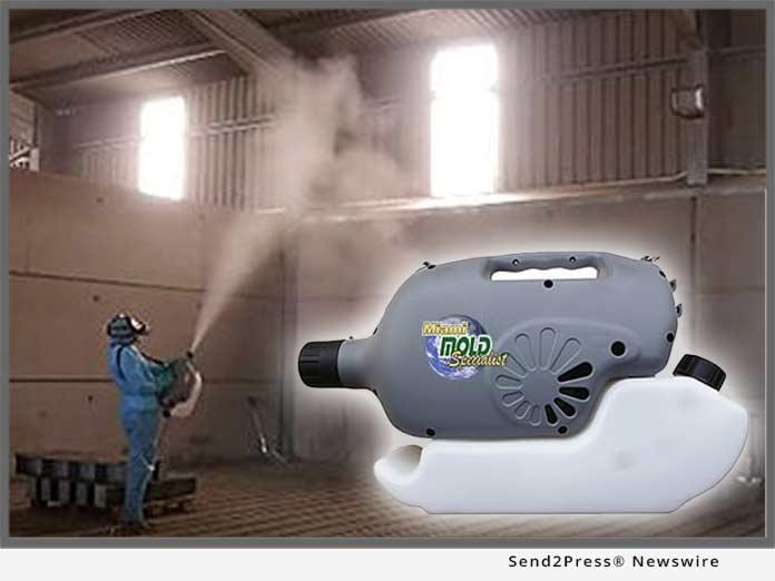 Miami Mold Specialist fogger